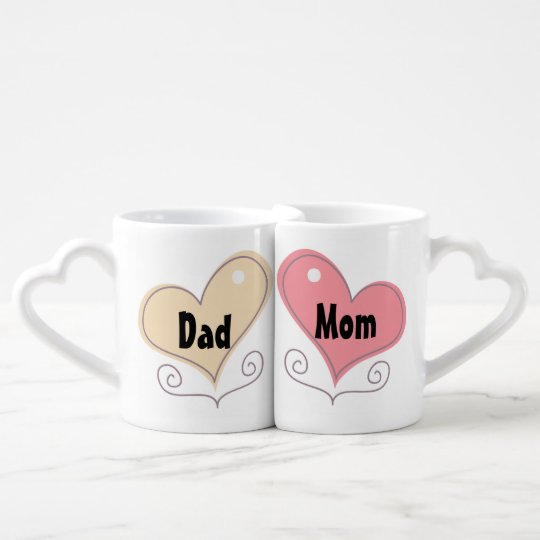 Mom and Dad Coffee Coffee Mug Set