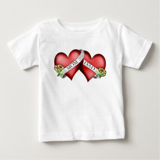 mom and dad tattoo t shirt