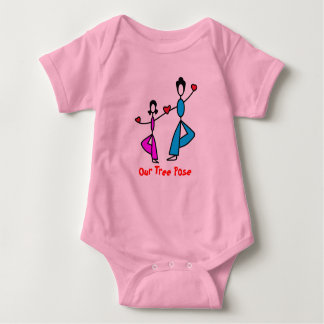 Mom and Daughter - Baby Yoga Clothes Baby Bodysuit