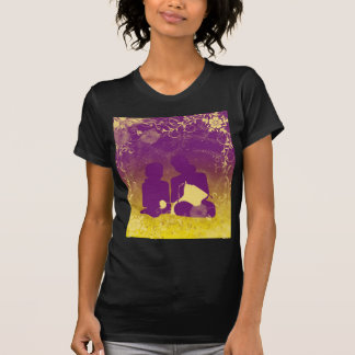 Mom and Daughter Knitters T-shirt