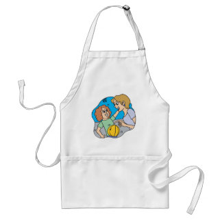 Mom And Daughter Standard Apron