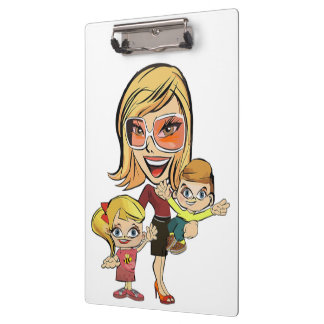 MOM AND KIDS CLIPBOARD