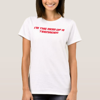 """""""MOM AND TEENS"""" BASIC T SHIRT FOR WOMEN"""