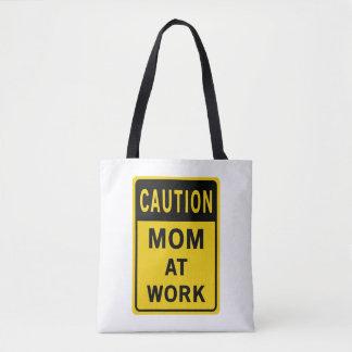 Mom At Work Shopping Bag
