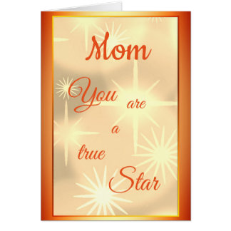 Mom Birthday luxury modern design Card