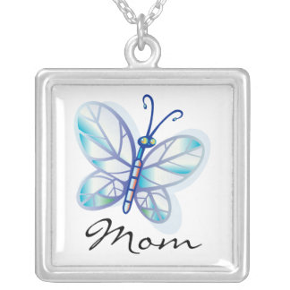 Mom Butterfly Mother's Day Necklace