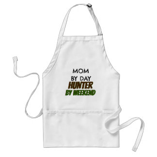 Mom by Day Hunter by Weekend Standard Apron