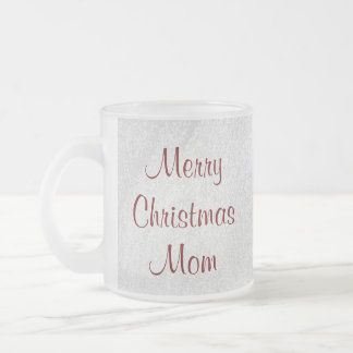 Mom Christmas Love Frosted Mug By Janz