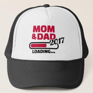 Mom Dad 2017 Trucker Hat