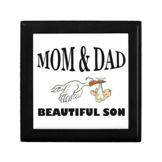 Mom Dad and beautiful son Gift Box
