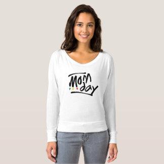 Mom Day Flowy Off Shoulder Shirt