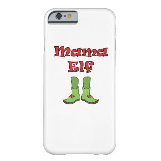 Mom Elf Matching Couple Christmas Barely There iPhone 6 Case