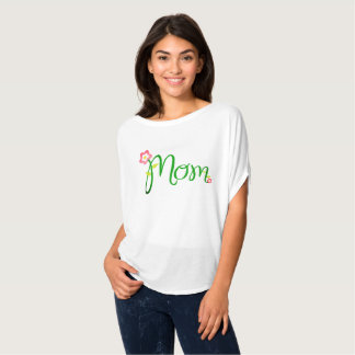 Mom Flowers Vine Mother's Day Shirt