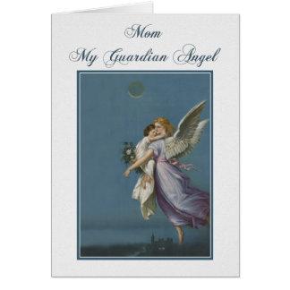 Mom - Guardian Angel Greeting Card