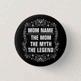Mom Happy Mother's Day 1 Inch Round Button