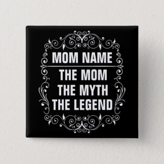Mom Happy Mother's Day 2 Inch Square Button