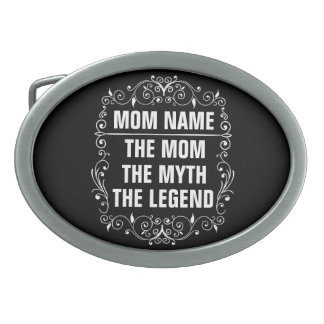 Mom Happy Mother's Day Belt Buckle