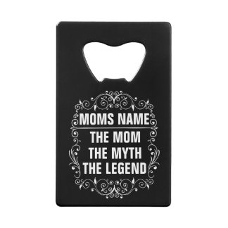 Mom Happy Mother's Day Credit Card Bottle Opener