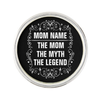 Mom Happy Mother's Day Lapel Pin