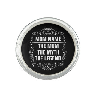 Mom Happy Mother's Day Photo Rings