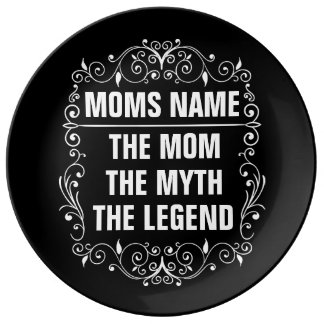Mom Happy Mother's Day Porcelain Plate