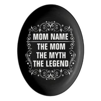 Mom Happy Mother's Day Porcelain Serving Platter