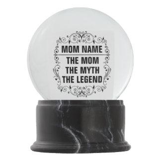 Mom Happy Mother's Day Snow Globe
