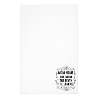 Mom Happy Mother's Day Stationery Paper