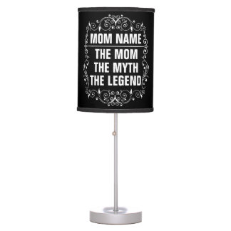 Mom Happy Mother's Day Table Lamp