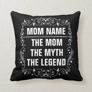 Mom Happy Mother's Day Throw Pillow