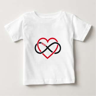 Mom infinity heart for Mother's day Baby T-Shirt