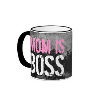 Mom is Boss Coffee Mug
