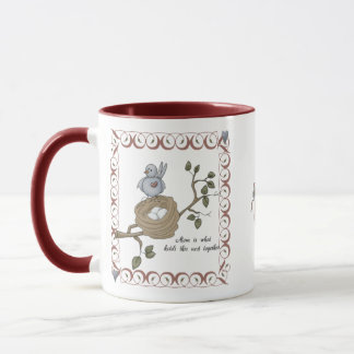 Mom Is What Holds This Nest Together Mug