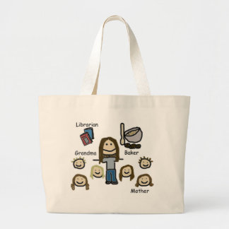 Mom Large Tote Bag