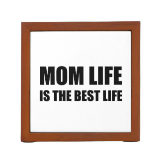 Mom Life Best Life Desk Organizer