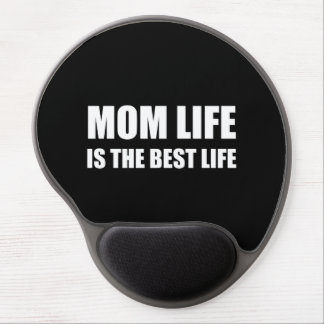 Mom Life Best Life Gel Mouse Pad