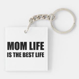 Mom Life Best Life Keychain