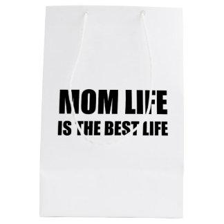 Mom Life Best Life Medium Gift Bag