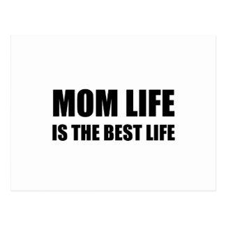 Mom Life Best Life Postcard