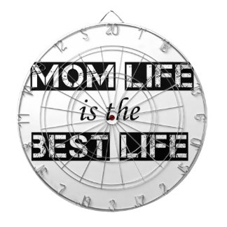 mom life is the best life dartboard