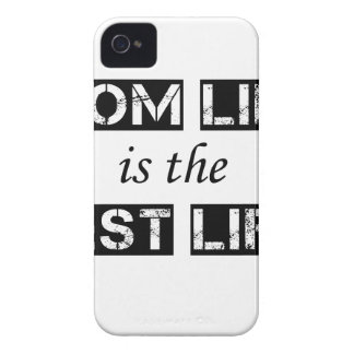 mom life is the best life iPhone 4 cases