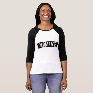 MOM LIFE JERSEY T-SHIRT