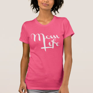 Mom Life Pinky T-Shirt