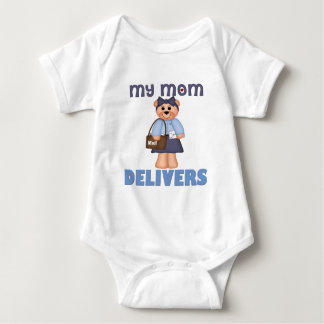 Mom Mail Carrier Baby Bodysuit