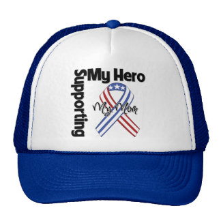 Mom - Military Supporting My Hero Hat
