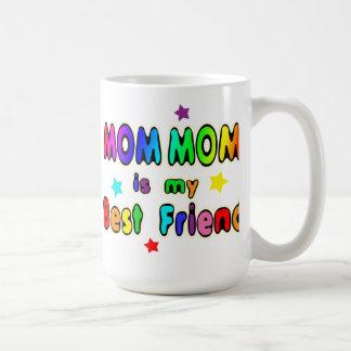 Mom Mom Best Friend Coffee Mug