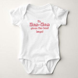Mom-Mom Gives the Best Hugs! Baby Bodysuit