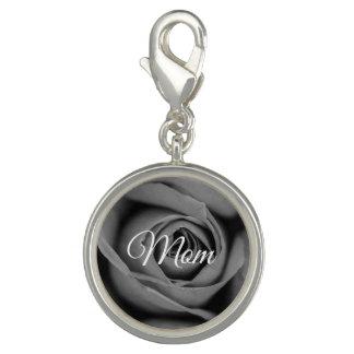 Mom Monochromatic Rose Charm