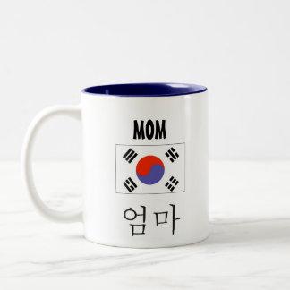 Mom Mug with Korean Flag
