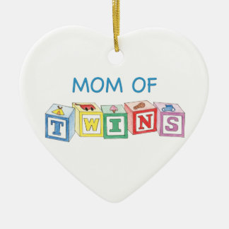 Mom of Twins Ornament